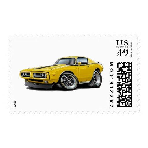 Coche Amarillo-Negro 1971-72 del cargador