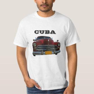 Coche americano clásico en Vinales, Cuba Playeras