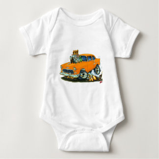 Coche anaranjado 1955 de Chevy 150-210 Body Para Bebé