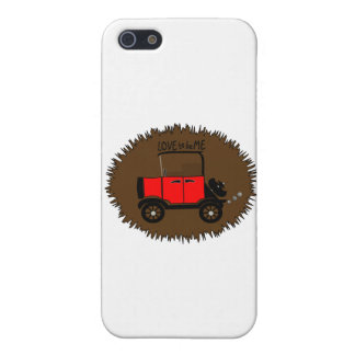 COCHE ANTIGUO -- AMOR A SER ME.png iPhone 5 Funda