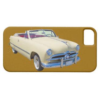 Coche antiguo convertible de lujo de encargo 1949 iPhone 5 Case-Mate fundas