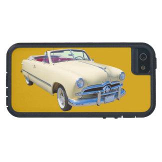 Coche antiguo convertible de lujo de encargo 1949 iPhone 5 protectores