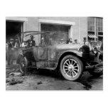 Coche antiguo Fire, 1921 Postal