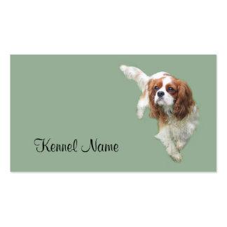 Coche arrogante del negocio del criador del perro tarjetas de visita