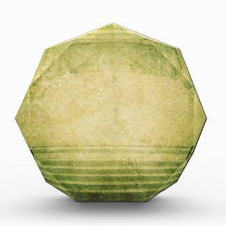 Coche asombroso apenado verde soñador retro del