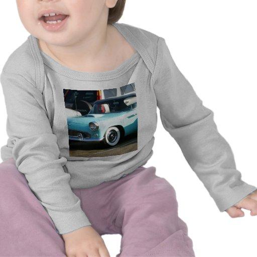 Coche auto de Collctor de la turquesa clásica Camisetas