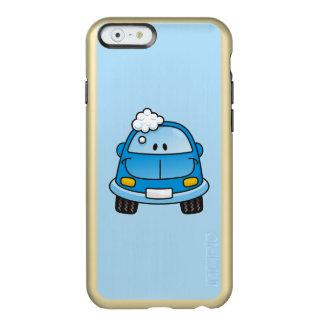 Coche azul con las burbujas funda para iPhone 6 plus incipio feather shine