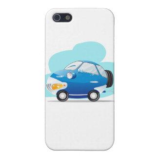 Coche azul iPhone 5 carcasas