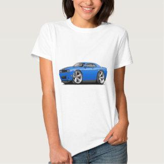 Coche Azul-Negro del desafiador SRT8 Camisas