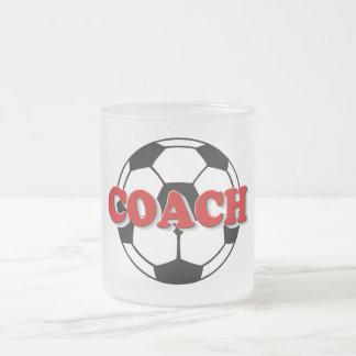 Coche (balón de fútbol) taza de cristal