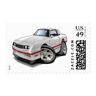 Coche Blanco-Rojo 1983-88 de Monte Carlo Franqueo