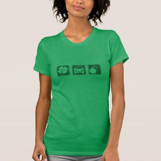 Coche bomba irlandés camisetas