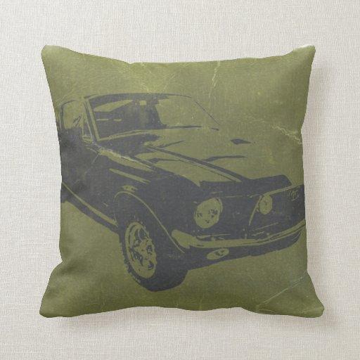 Coche clásico almohada