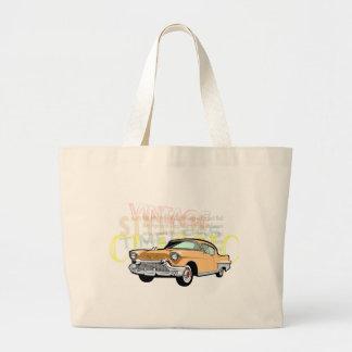 Coche clásico, Bel Air viejo de Chevrolet en marró Bolsas