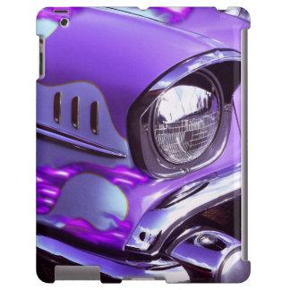Coche clásico: Chevrolet con la capilla llameante Funda Para iPad