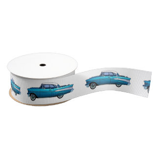 Coche clásico Chevy 1957 BelAire Lazo De Tela Gruesa