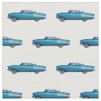 Coche clásico Chevy 1957 BelAire Telas