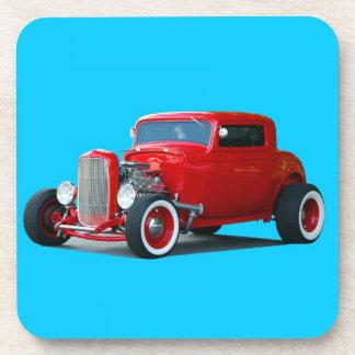Coche clásico del coche de carreras posavaso
