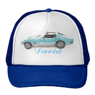 Coche clásico gorras