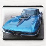 Coche clásico Mousepad del Corvette Alfombrillas De Raton