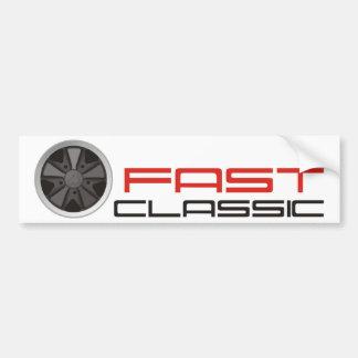 Coche clásico rápido: Rueda del coche de Pegatina Para Auto