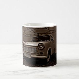 coche, coche viejo, RDA, coche, Hungría, Tazas