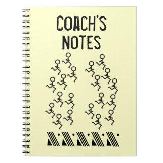 Coche corriente cuaderno