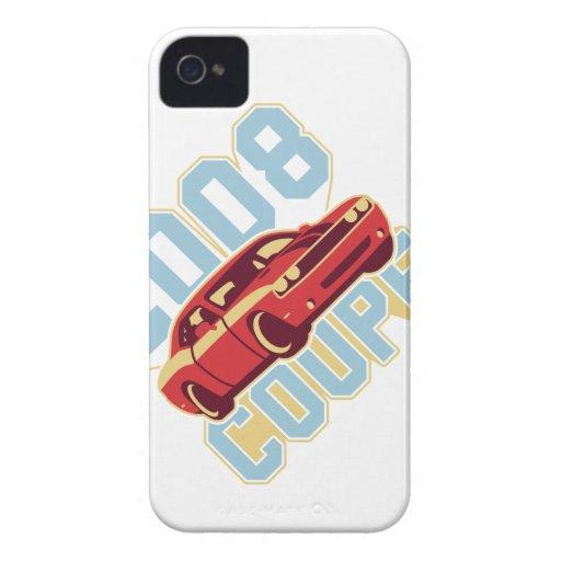 Coche/cupé del músculo iPhone 4 Case-Mate carcasas