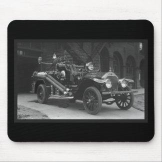Coche de bomberos 1924 de Francia del La Alfombrillas De Ratón