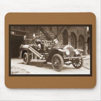 Coche de bomberos 1924 de Francia del La Alfombrillas De Raton