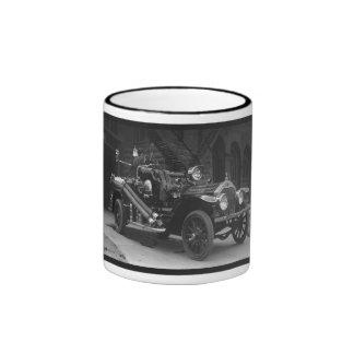 Coche de bomberos 1924 de Francia del La Taza De Dos Colores