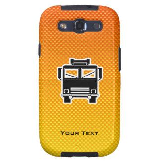 Coche de bomberos amarillo-naranja galaxy SIII coberturas