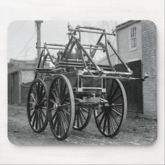 Coche de bomberos antiguo los años 20 tapete de raton