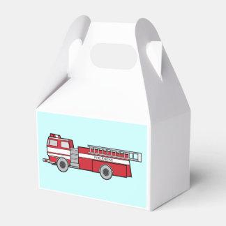 Coche de bomberos caja para regalo de boda