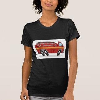 Coche de bomberos camisetas