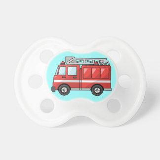 Coche de bomberos chupetes de bebé
