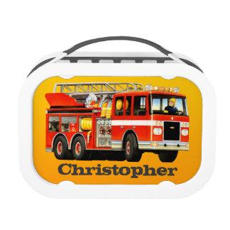 Coche de bomberos conocido de encargo