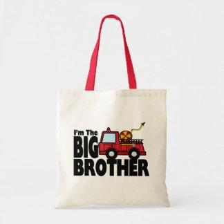 Coche de bomberos de hermano mayor bolsa