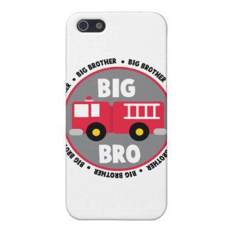 Coche de bomberos de hermano mayor iPhone 5 cárcasas
