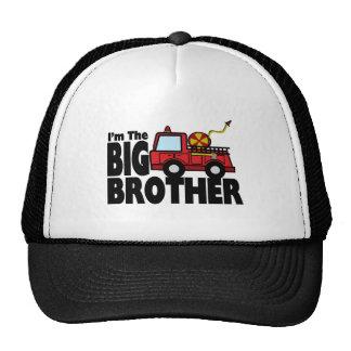 Coche de bomberos de hermano mayor gorras