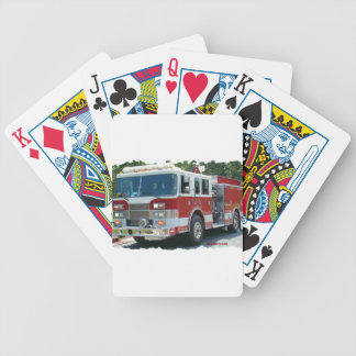 Coche de bomberos de Pierce Baraja Cartas De Poker