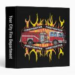 Coche de bomberos del bombero