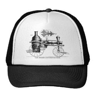 Coche de bomberos del vapor rotatorio de Silsby Gorro
