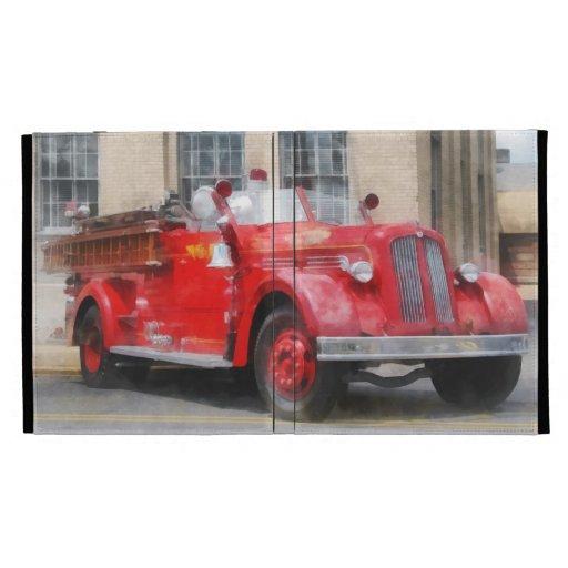Coche de bomberos del vintage