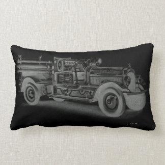 coche de bomberos dibujado mano inversa del almohadas