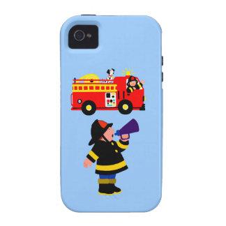 Coche de bomberos iPhone 4/4S funda