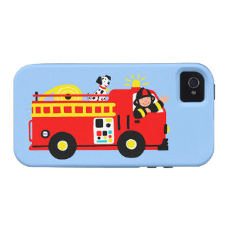 Coche de bomberos vibe iPhone 4 funda