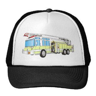 Coche de bomberos gorras