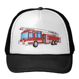 Coche de bomberos gorro de camionero
