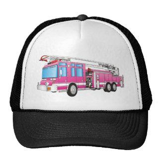 Coche de bomberos gorras de camionero